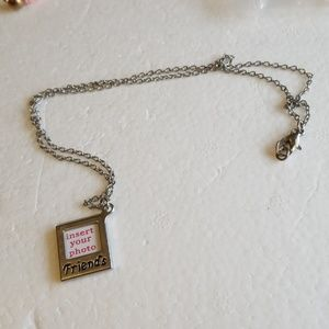 Insert your photo friend's necklace